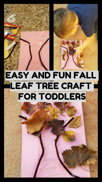 Easy and Fun Fall Leaf Tree Craft for Toddlers