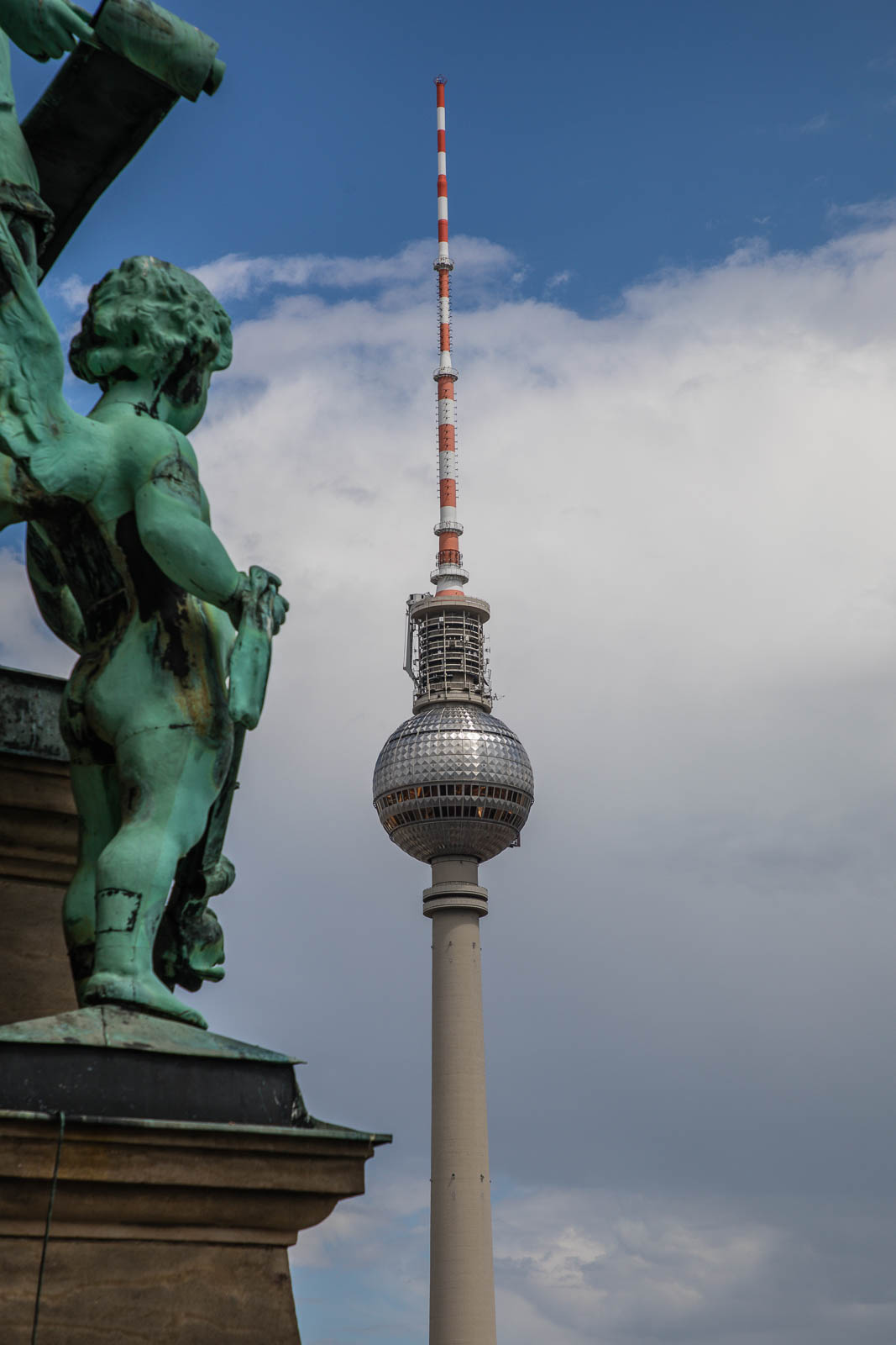 Angel watch over TV tower