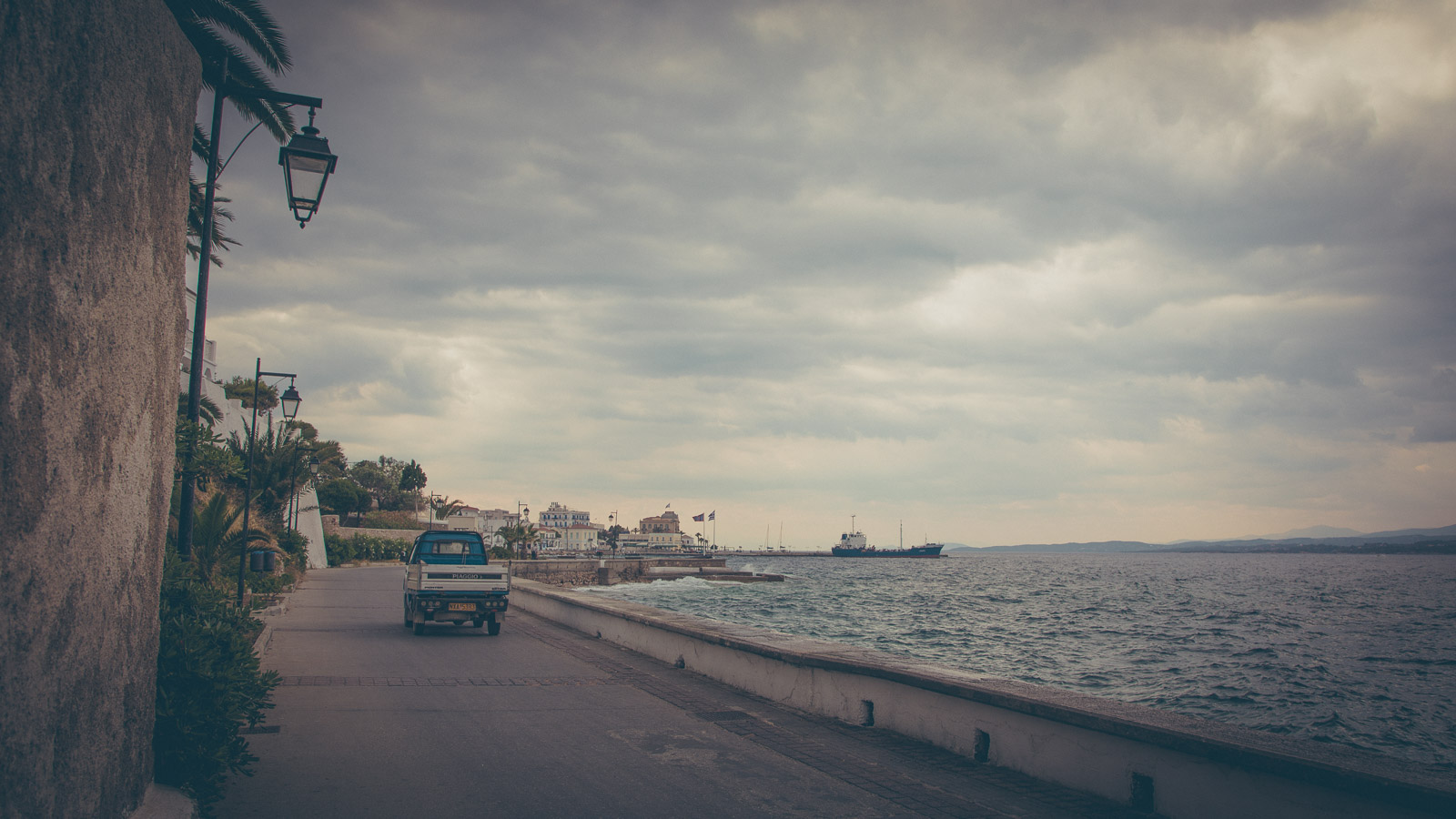Truck on the Spetses