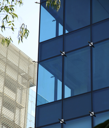 Semi Unitized Curtain Wall Featured