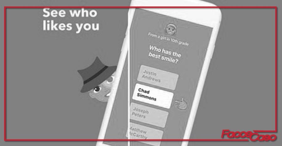 Quando l' anonimato diventa un gioco