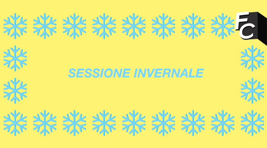 Sessione invernale? Don't panic!