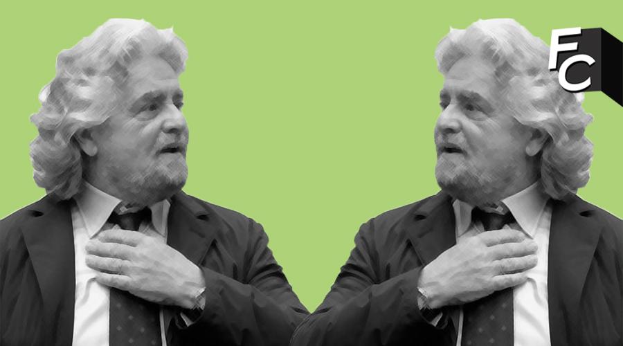 Beppe Grillo contestato a Oxford. È polemica sui social, ma lui smentisce.