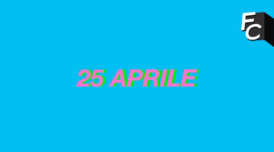 Il 25 Aprile dei Giovany