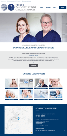 Praxiswebsite-Zahnarzt-dr-eicker-face-it-medical