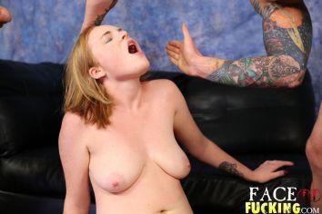 Face Fucking Ginger Rose