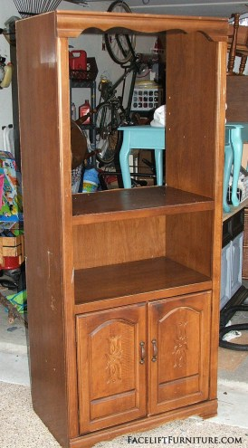 Upstyled Toy Cabinet Before