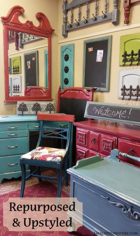 Repurposed & Upstyled - Facelift Furniture