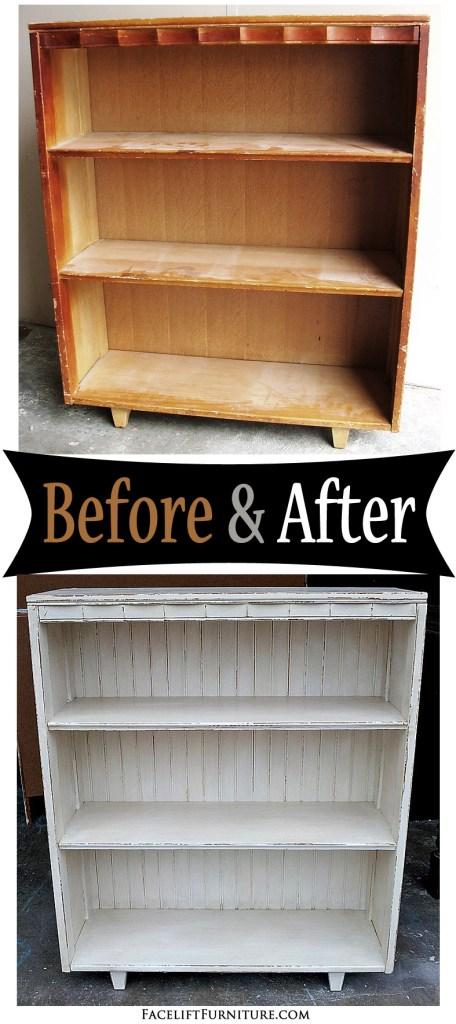 Bookshelf - Before & After