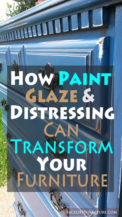 How paint, glaze & distressing can transform your furniture - from Facelift Furniture