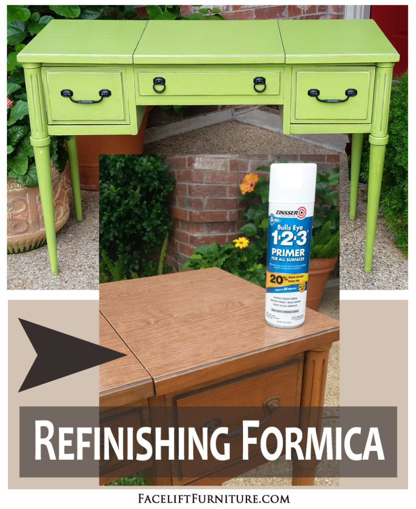 Good Refinishing Formica Furniture With Paint, Glaze U0026 Distressing