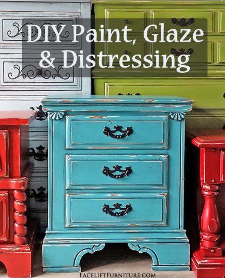DIYPaintGlaze&Distressing
