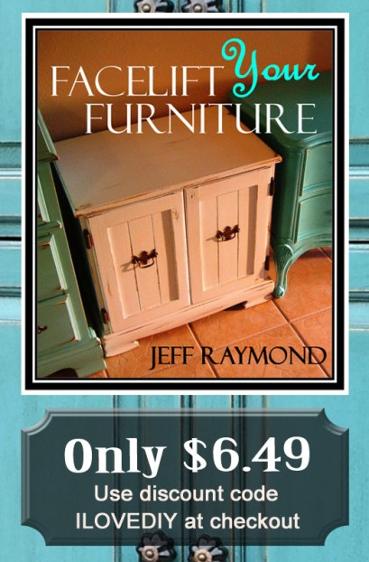Learn to paint, glaze and distress your furniture! Our DIY eBook is only $6.49 with code ILOVEDIY.