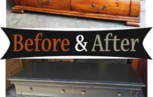 Coffee Tables – Before & After