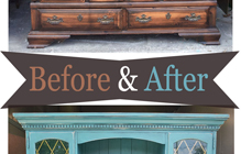 Buffets & Hutches – Before & After