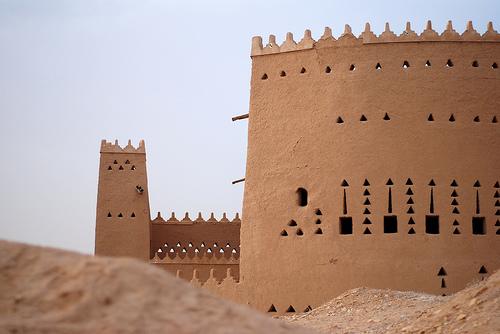 At Turaif District in ad-Dir'iyah