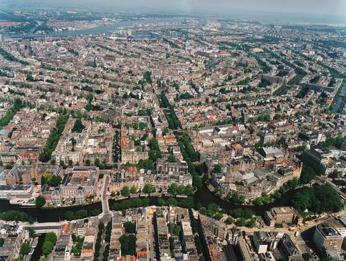 Seventeenth century canal ring area of Amsterdam