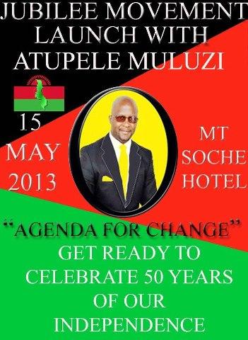 Malawi 50 years since Independence (Atupele Muluzi)