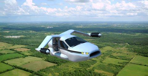 4seater flying car