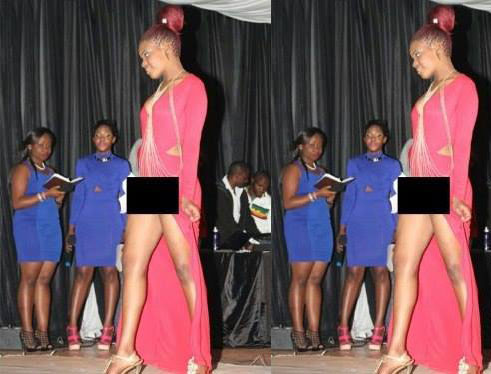Female student arrested for modeling without panties