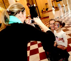 Macys-Arts-Wave-Sampler-2015 Face Painting Cincinnati Butterfly Music Hall