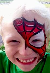 Torn-Spiderman-Mask