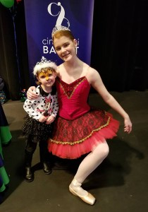Cincinnati Ballet PNC Bank CET TV Daniel the Tiger face painting