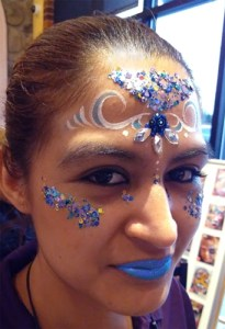 Face painting jewels El Rancho Nuevo chunky glitter Ohio