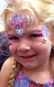 Baby Expo 2018 princess face painting Cincinnati