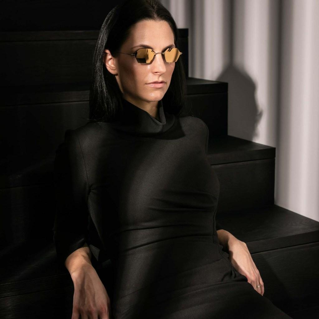 Silhouette, eyewear, faceprint, glasses, TMA, Titan Minimal Art
