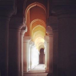 Thirumalai Nayak Palace, Faces Places and Plates Blog, Madurai, India, South India, Heritage, Tamil Nadu, Food Travel, Food Tourism, Indian Food, Culinary Tours, Karen Anderson, Pauli-Ann Carriere