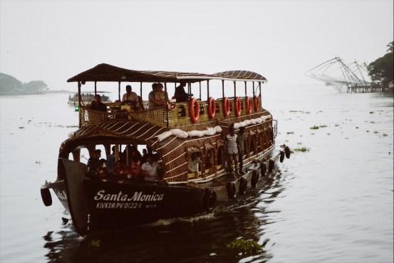 boat cruise, Kochi, Fort Kochi, Cochin, Kerala, South India, India, Faces Places and Plates blog