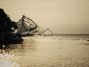 Chinese fishing nets, Kochi, Kerala, South India, Faces Places and Plates blog