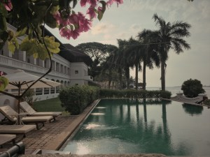 Brunton Boatyard, CGH Hotel, Kochi, Fort Kochi, Cochin, Kerala, India, Faces Places and Plates blog, poolside
