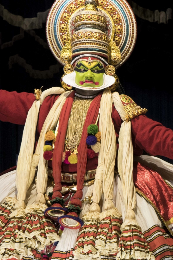 Kathakali, Kochi, Kerala, South India, India, Faces Places and Plates blog