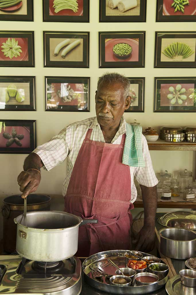 Karrupiah, The Bangala, chef, Karaikudi, Tamil Nadu, South India, India, Faces Places and Plates blog