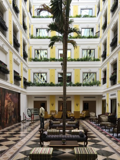 Main lobby, Fragrant Nature Hotel, Kochi, Fort Kochi, Cochin, Kerala, South India, India, Faces Places and Plates blog