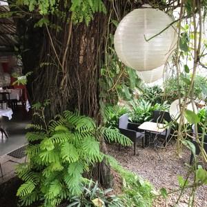 lantern, garden, Malabar House, Kochi, Fort Kochi, Cochin, Kerala, South India, India, Faces Places and Plates blog
