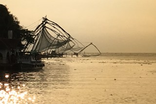 Chinese fishing nets, Kochi, Fort Kochi, Cohin, Kerala, South India, India, Faces Places and Plates blog