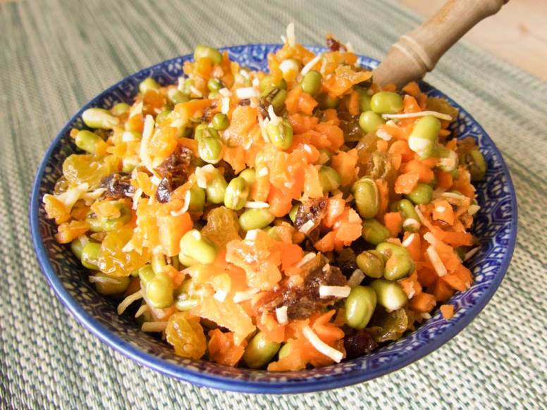 Isha's Green-Gram-Sprout-Salad