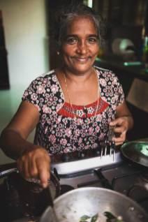 Anna Zacharria, Green Palms Homestay, Kerala