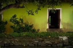 Along the Keralan backwaters.