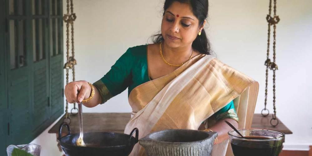 Ranjini Menon cooking demonstration