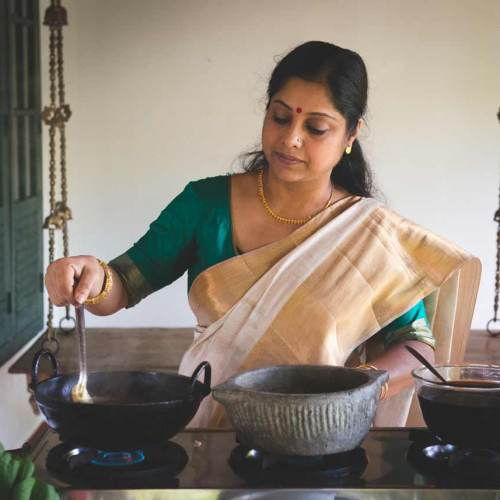 Ranjini Menon cooking demonstration