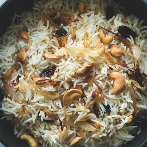 Neichoru_Ghee-Rice with cashews