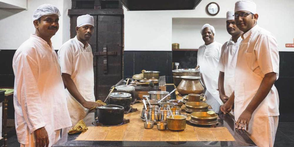 Kalari Kovilakom Kitchen Team