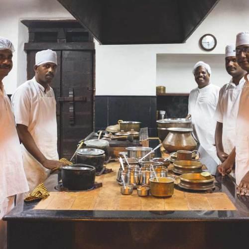 Kalari Kovilakom Kitchen Team