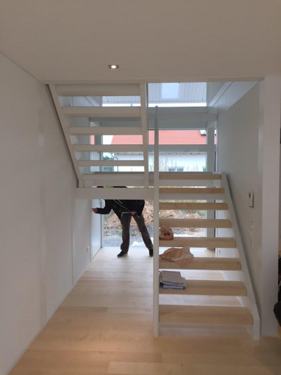 Falsch verbaute Treppenstufen
