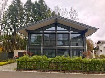 Werkhaus, modernes Fachwerkhaus