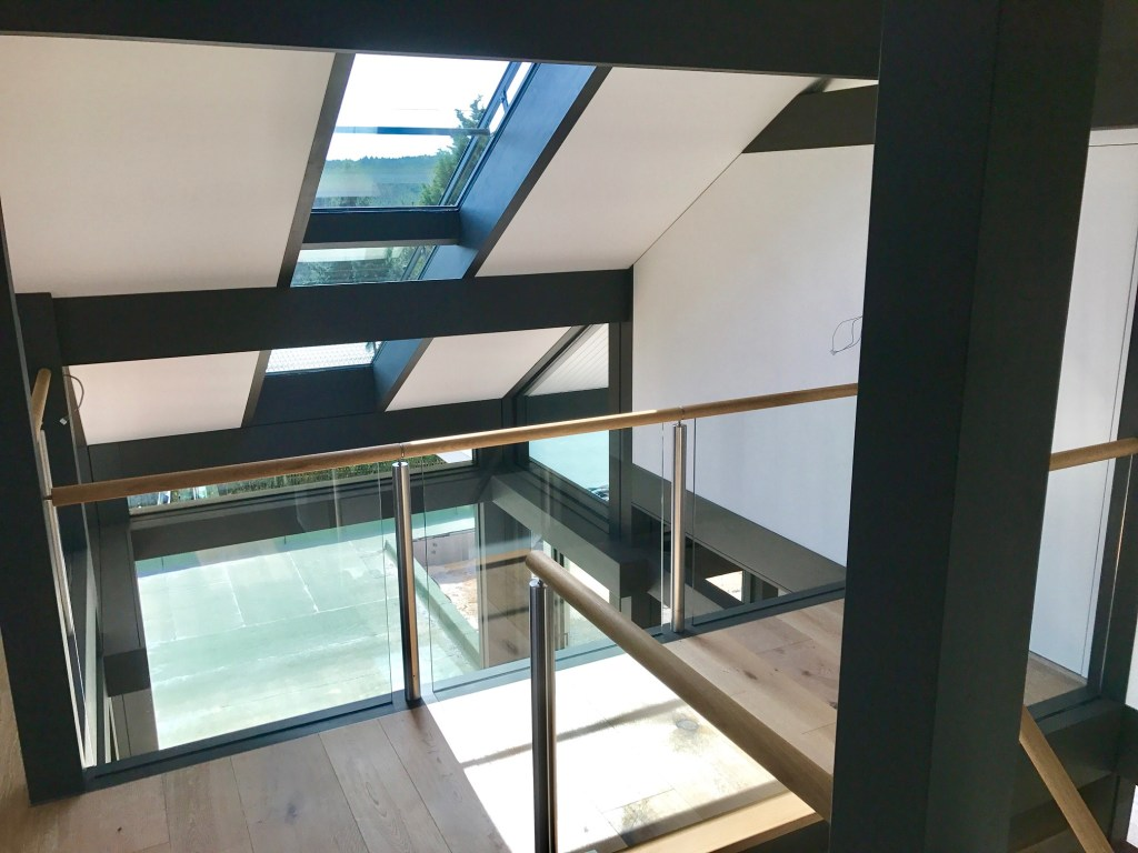 huf haus dachverglasung 2 - modernes fachwerkhaus